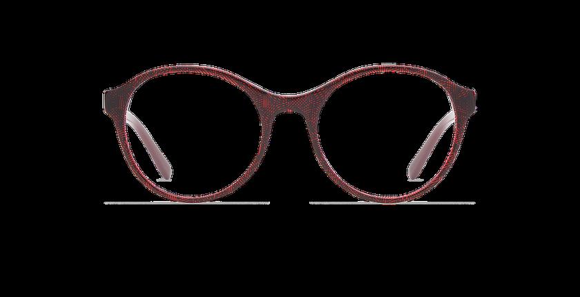 Lunettes de vue femme EMY rouge - Vue de face