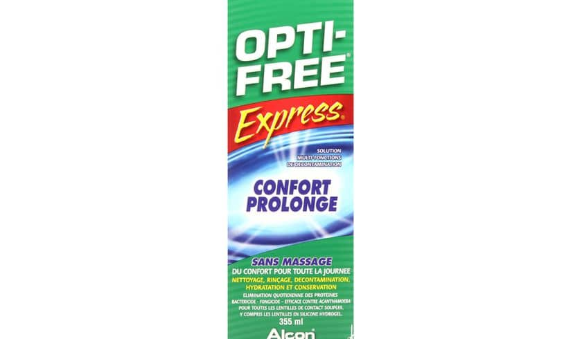 Opti-Free Express 355ml - Vue de face