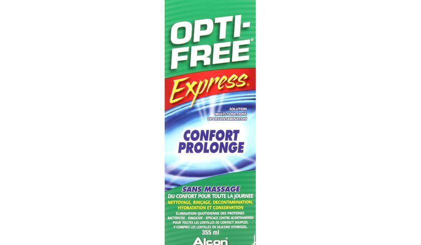 Opti-Free Express 355ml - Vue de face