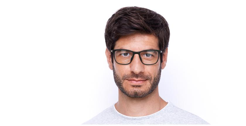 Lunettes de vue homme VPL952 gris - Vue de face