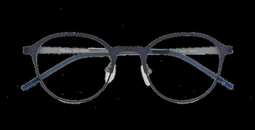 Lunettes de vue femme XENON bleu/argenté - Vue de face