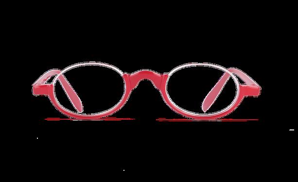 Lunettes de vue AFFLELOU FORTY rouge - danio.store.product.image_view_face