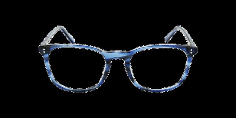 Lunettes de vue homme MAXENCE bleuVue de face