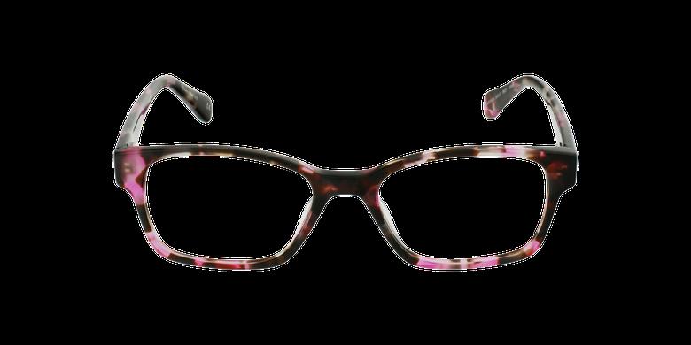 Lunettes de vue femme LYS écaille/rose