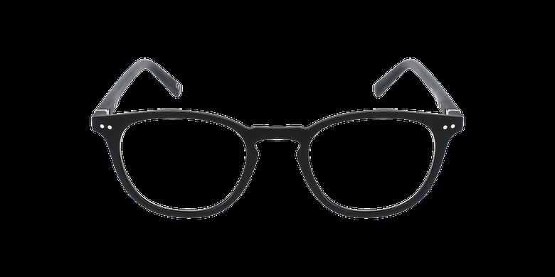 Lunettes de vue FORTY anti-lumière bleue Noire noir/noirVue de face