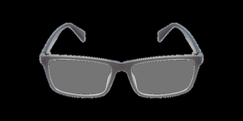 Lunettes de vue homme RZERO10 gris/noirVue de face