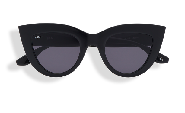 Lunettes de soleil femme MARIPOSA noir - danio.store.product.image_view_face