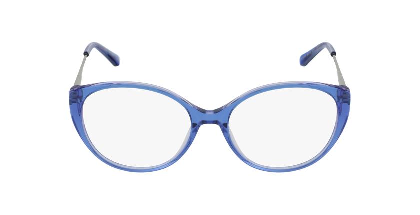 Lunettes de vue femme LIVIA bleu - Vue de face