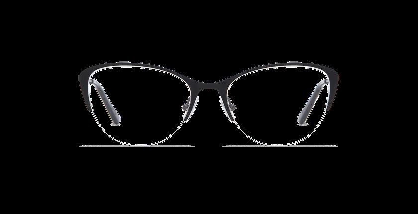 Lunettes de vue femme RACHEL noir - Vue de face
