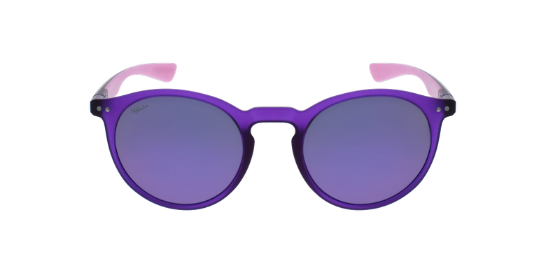 Lunettes de soleil femme KESSY POLARIZED violet/roseVue de face