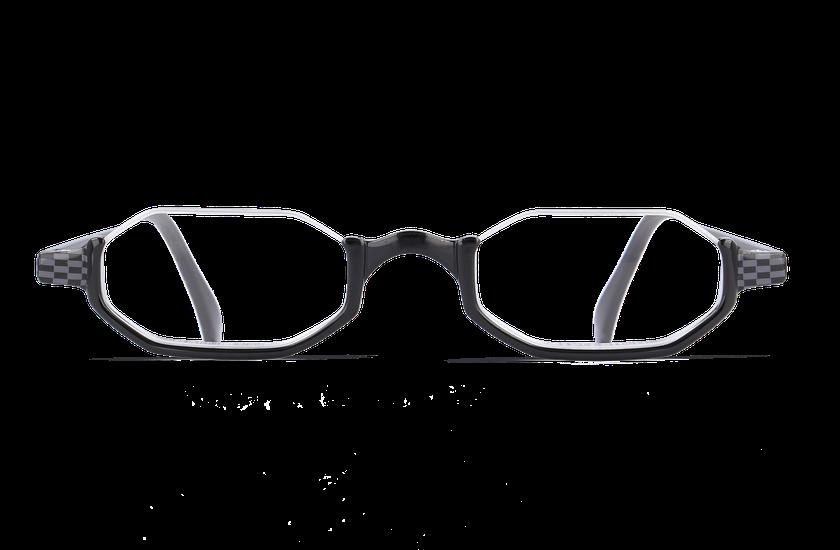 Lunettes de vue AFFLELOU FORTY noir - danio.store.product.image_view_face