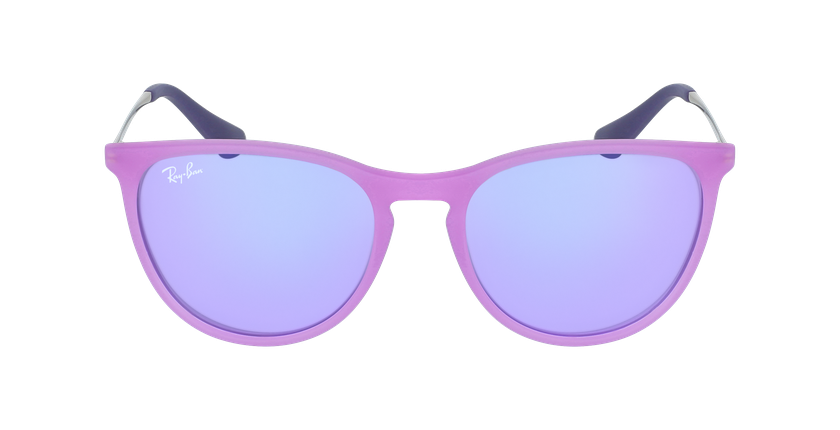 Lunettes de soleil enfant 0RJ9060S violet - Vue de face