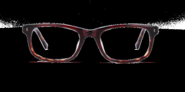 Lunettes de vue homme PARKLANE écaille/rouge