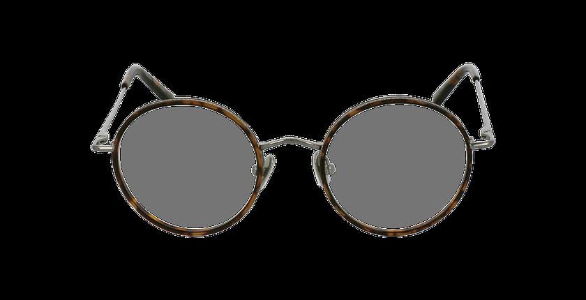 Lunettes de vue CHOPIN gris/marron - Vue de face