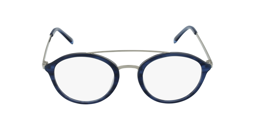 Lunettes de vue ROSSINI bleu - Vue de face