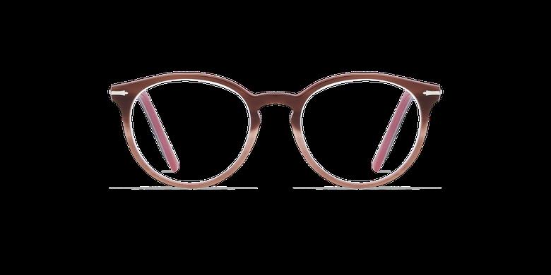 Lunettes de vue femme OYONNAX marron/rose