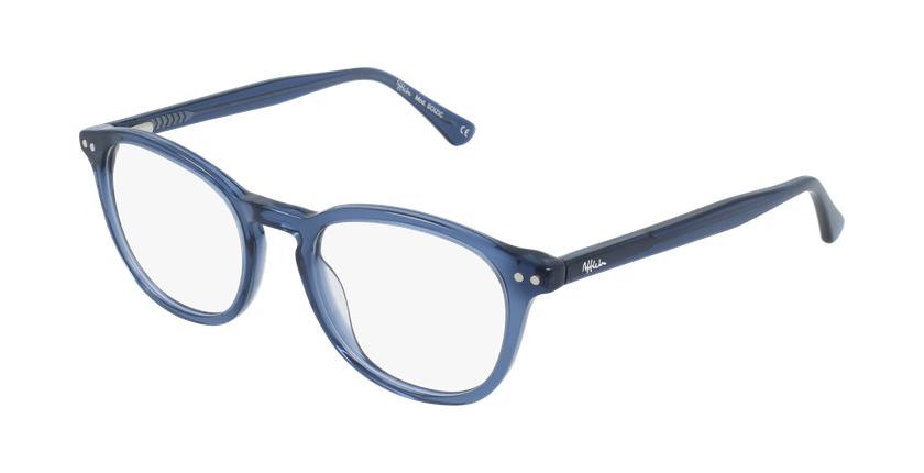 Lunettes de vue femme OAF20523 bleu - vue de 3/4