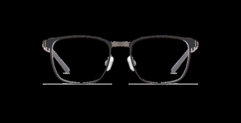 Lunettes de vue homme ALPHA17 noir/gris - Vue de face