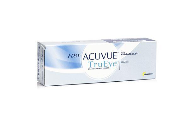 Lentilles de contact 1 Day Acuvue® TruEye 30L - Vue de face