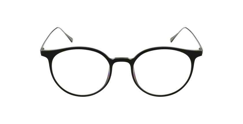 Lunettes de vue MAGIC 67 noir/argenté - Vue de face