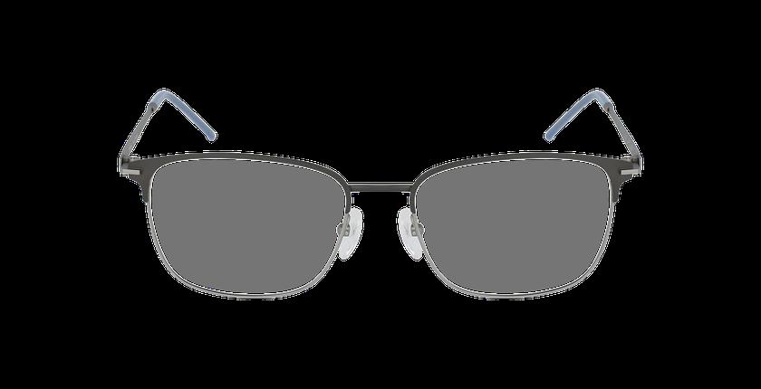 Lunettes de vue homme URANUS gris - Vue de face