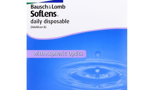 Lentilles de contact SofLens Daily Disposable 90L - Vue de face