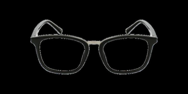 Lunettes de vue homme PAULO noir/argentéVue de face
