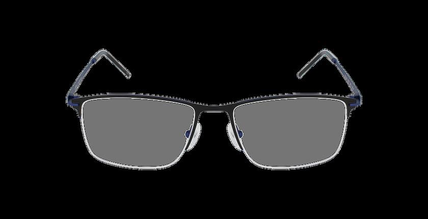 Lunettes de vue homme NEPTUNE noir/bleu - Vue de face