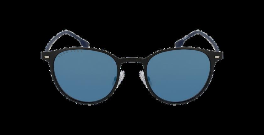 Lunettes de soleil homme 1008/S noir/bleu - Vue de face