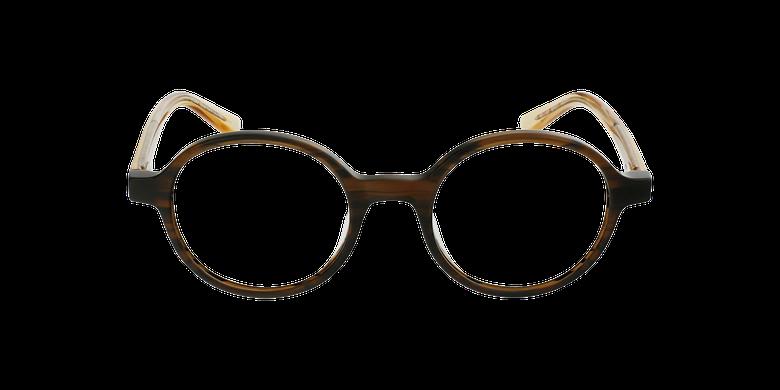 Lunettes de vue femme CAPUCINE marron