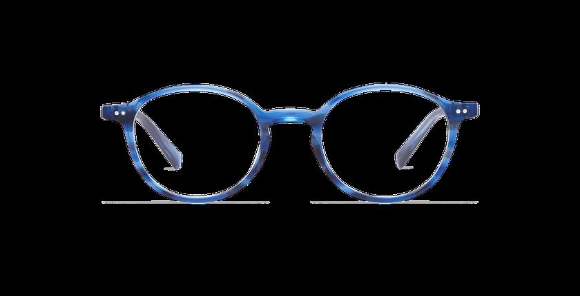 Lunettes de vue homme RENAN bleu - Vue de face