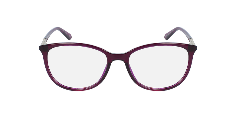 Lunettes de vue femme ALEXA violetVue de face