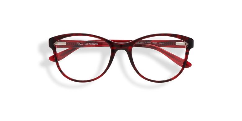 Lunettes de vue femme MADELINE rouge