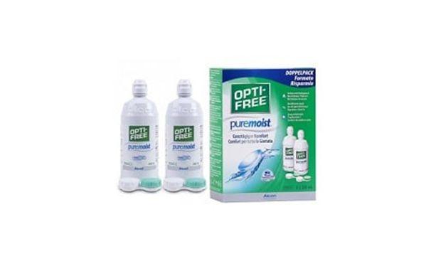 Opti-Free Puremoist 2x300ml - Vue de face
