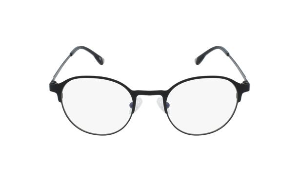 Lunettes de vue homme MAGIC 53 BLUEBLOCK noir - Vue de face