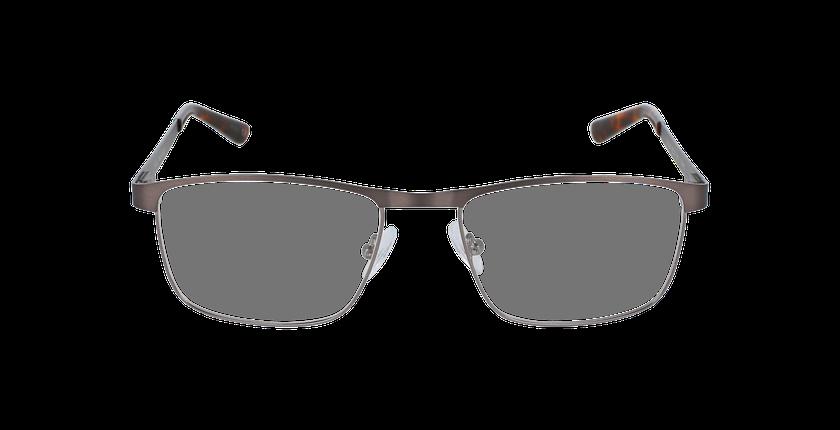 Lunettes de vue homme GUIDO gris/argenté - Vue de face