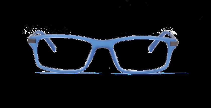 Lunettes de vue homme GILLES bleu - Vue de face
