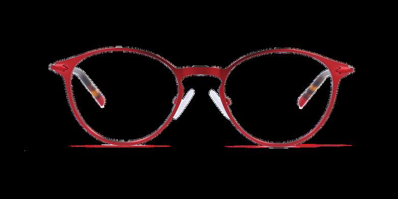 Lunettes de vue homme DUBLIN rouge