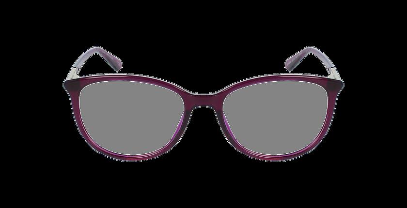 Lunettes de vue femme ALEXA violet - Vue de face