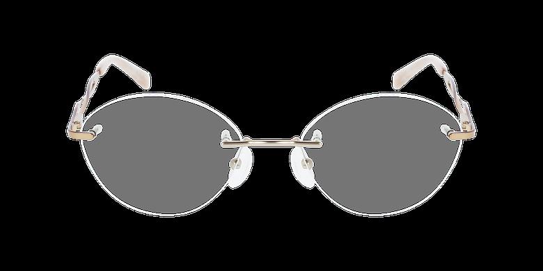 Lunettes de vue femme IDEALE-31 beigeVue de face