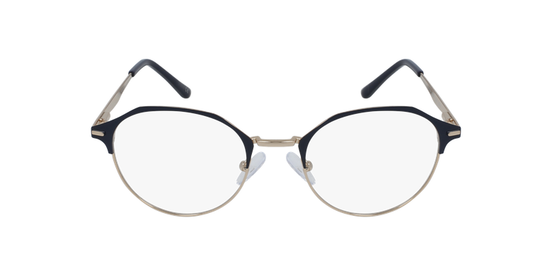 Lunettes de vue femme OAF20524 bleu/doré