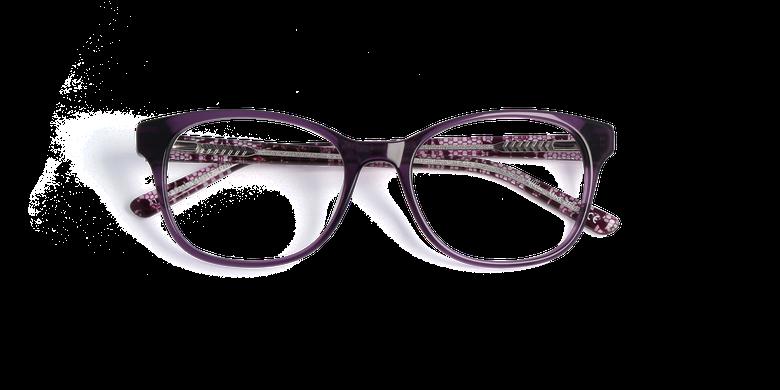 Lunettes de vue femme ZELIA violet