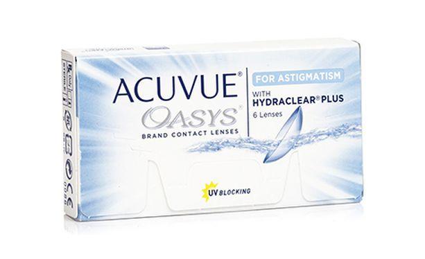 Lentilles de contact Acuvue® Oasys® for Astigmatism 6L - danio.store.product.image_view_face
