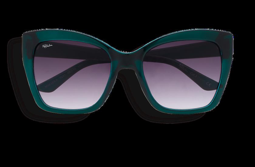 Lunettes de soleil femme LEILA turquoise - danio.store.product.image_view_face