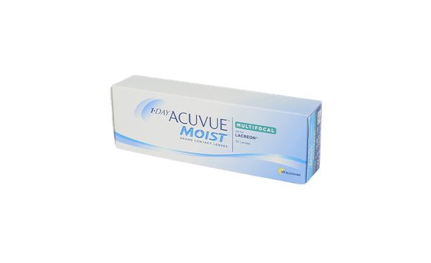 Lentilles de contact 1 Day Acuvue® Moist® Multifocal 30L - Vue de face
