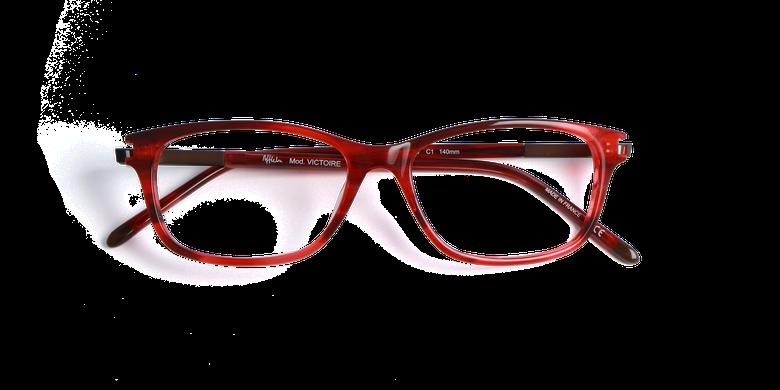 Lunettes de vue femme VICTOIRE rouge