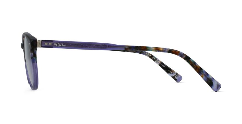 Lunettes de vue VIVALDI violet - Vue de côté
