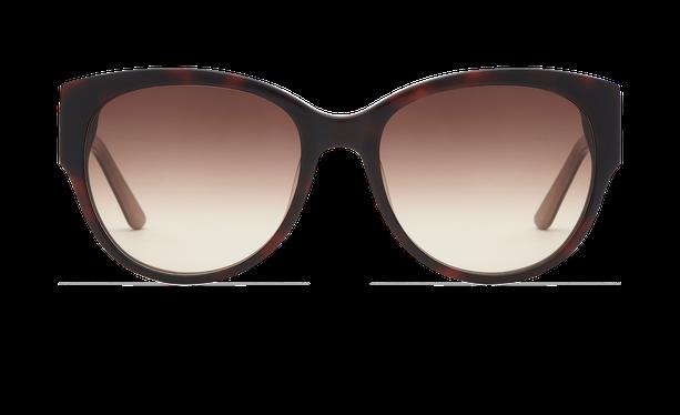 Lunettes de soleil femme CLAUDIA écaille/marron - danio.store.product.image_view_face