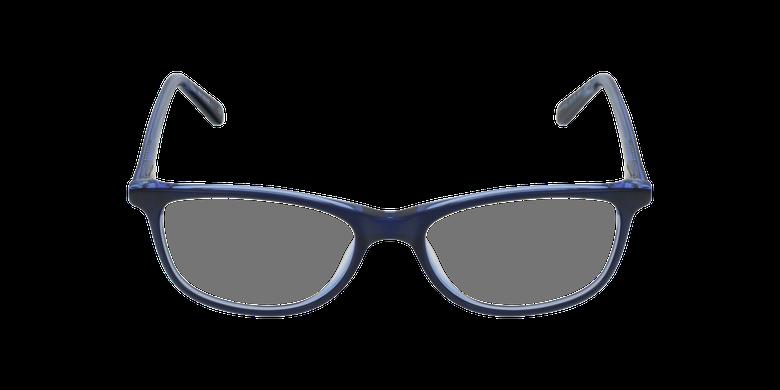 Lunettes de vue femme SOLINE bleuVue de face