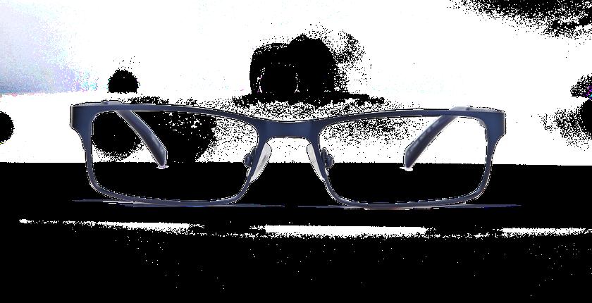 Lunettes de vue homme AFFLELOU COUTURE bleu - Vue de face